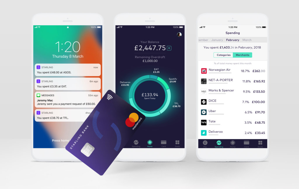 Notifications, Pulse and Transaction feed on personal account