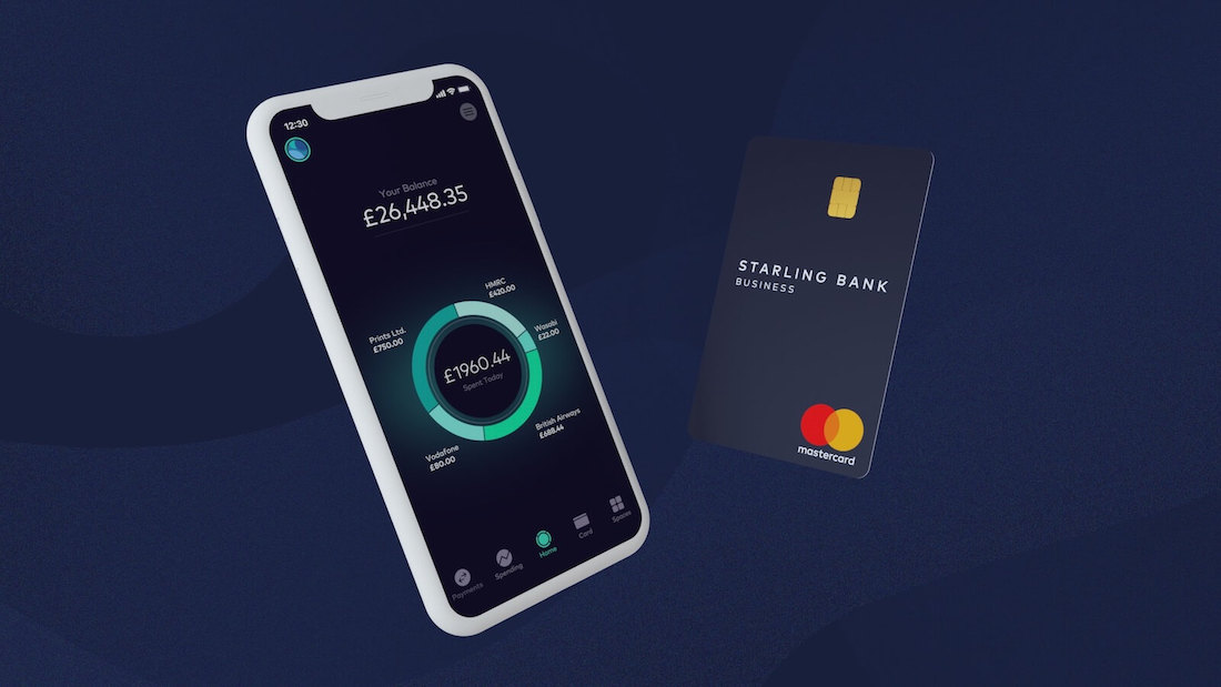 Starling Bank business account and card