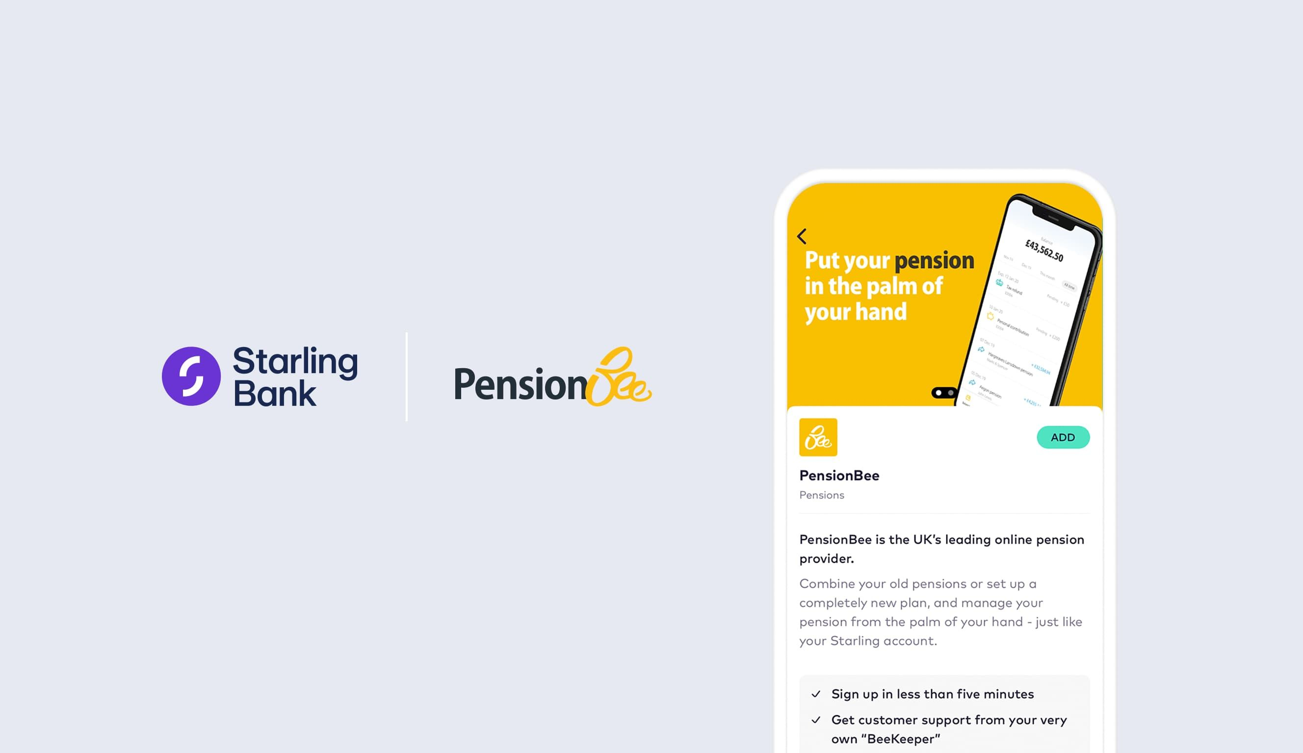 PensionBee for sole traders: Transparency, flexibility and choice header image